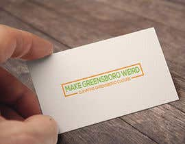 """CreativeRashed tarafından LOGO """"Make Greensboro Weird"""" için no 278"""