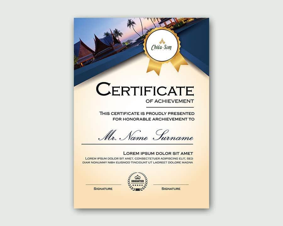 Entry 61 By Rrtvirus For Design A Travel Certificate Freelancer