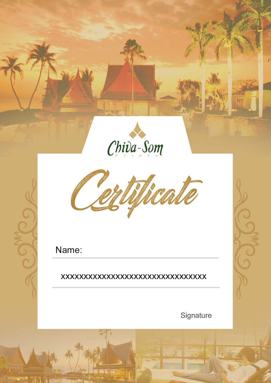 Entry 27 By Rajaitoya For Design A Travel Certificate Freelancer