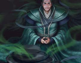 #28 untuk Illustrate or paint a character from a Chinese fantasy novel for use as a book cover oleh shustovalada