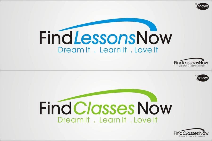Конкурсная заявка №283 для Logo Design for FindLessonsNow/ FindClassesNow