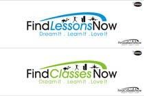 Graphic Design Kilpailutyö #309 kilpailuun Logo Design for FindLessonsNow/ FindClassesNow