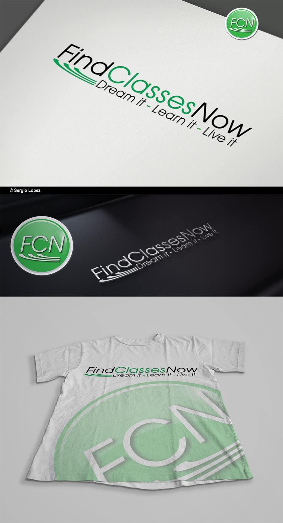 Конкурсная заявка №231 для Logo Design for FindLessonsNow/ FindClassesNow