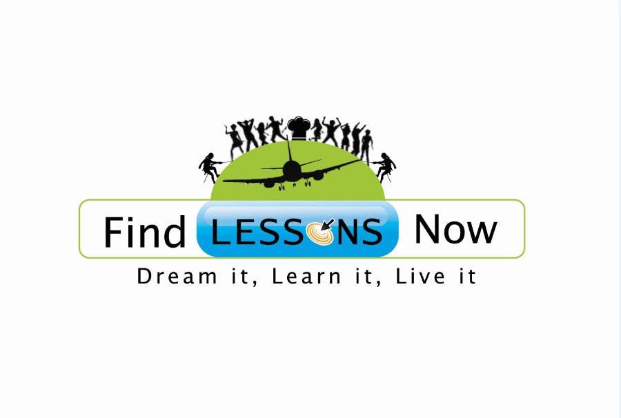 Kilpailutyö #182 kilpailussa Logo Design for FindLessonsNow/ FindClassesNow