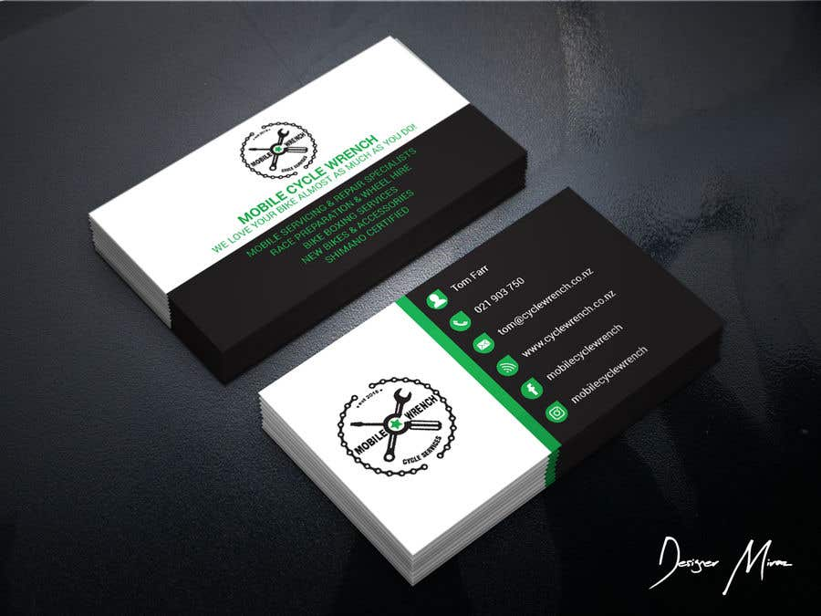 Entry #7 by JewelTheDesigner for Clean modern business card design ...