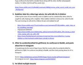 #3 cho Compile a list of 5 Disturbing Reddit Confession Post With Disturbing Backstories bởi foxsadik