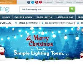 #36 untuk Christmas Day Themed Banner set for our website oleh satishandsurabhi