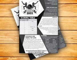 #5 for Cricket Dice Game - Design Instruction sheet & Game elements by parulgupta549