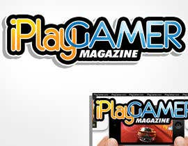 #92 para Logo Design for iPlay Gamer Magazine por rogeliobello