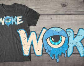nº 15 pour Woke Eye Ball T- Shirt par db1404