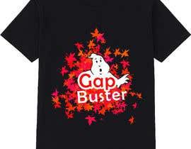 #116 pёr GAP BUSTER Logo T-shirt design nga KLTP