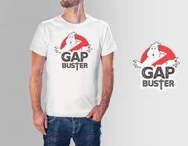 #119 pёr GAP BUSTER Logo T-shirt design nga marfydesign