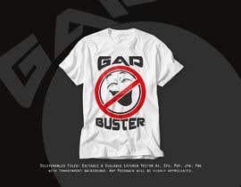 #95 pёr GAP BUSTER Logo T-shirt design nga AfridiGraphics