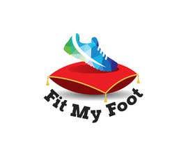 Nro 42 kilpailuun Logo design for online sneakers shop - Fit my foot käyttäjältä AhmadSaees2018