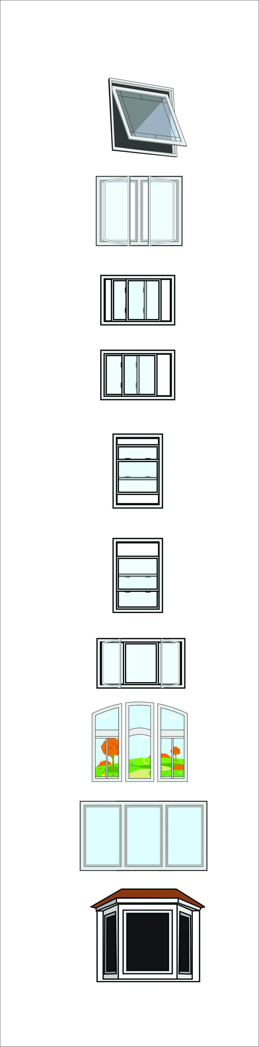 Příspěvek č. 1 do soutěže Design Windows/Doors/Patios Images/Vector Clip Art