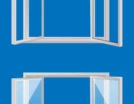 #9 for Design Windows/Doors/Patios Images/Vector Clip Art by zuhaibamarkhand