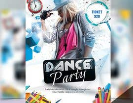 #38 for flyer design for a dance party by asmamalik08