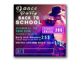 #25 for flyer design for a dance party by tatyana08