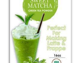 #89 untuk Sweet Matcha Label oleh naveen14198600