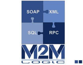 nº 596 pour Logo Design for M2M Logic Pty Ltd par AxionStudio