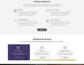 #47 for Design a website landing page mockup by xprtdesigner
