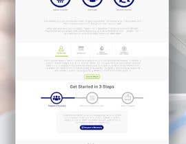 #56 for Design a website landing page mockup by designsdux