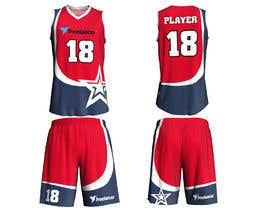 Nro 63 kilpailuun Design Basketball Jersey käyttäjältä libertBencomo