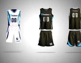 Nro 88 kilpailuun Design Basketball Jersey käyttäjältä aarushvarma