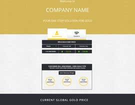 EmpUkbased tarafından Design a website mockup for displaying gold prices için no 31