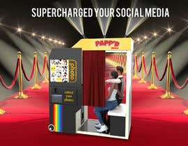 #16 for Design a 3d render of photobooth by miguelmanch