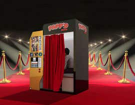 Tefaammar님에 의한 Design a 3d render of photobooth을(를) 위한 #3