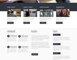 #7 untuk Design a Website Mockup for Shooting Range oleh negibheji