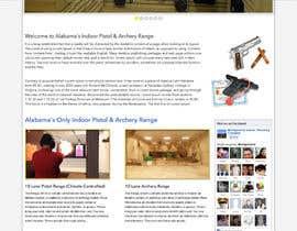 #6 untuk Design a Website Mockup for Shooting Range oleh webidea12