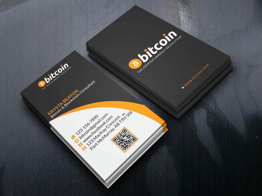 Entry 273 by akadermia320 for design a business card for bitcoin contest entry 273 for design a business card for bitcoin reheart Image collections