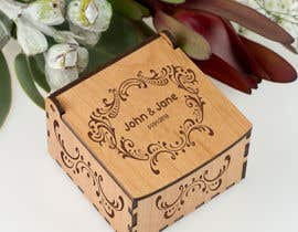 #3 for Wedding photo box - engraving design af engabousaleh