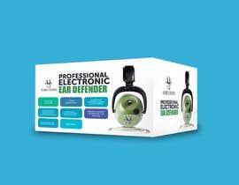 Nro 19 kilpailuun Design packaging for a electronic ear defender. käyttäjältä riasatfoysal
