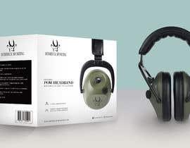 Nro 15 kilpailuun Design packaging for a electronic ear defender. käyttäjältä syampullamvally