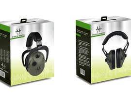 Nro 14 kilpailuun Design packaging for a electronic ear defender. käyttäjältä shinydesign6