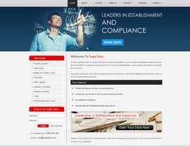 #9 para Website Design for SupaDocs por Pravin656
