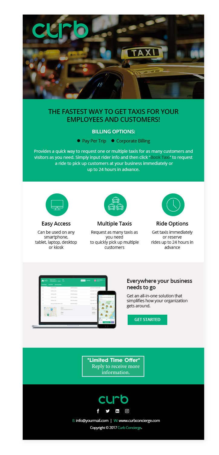 Entry 10 By Rainbowvivid For Design A Html Email Template Freelancer