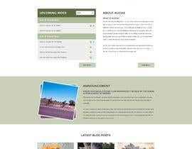aryamaity tarafından Design a Cycling Club Website Mockup için no 2
