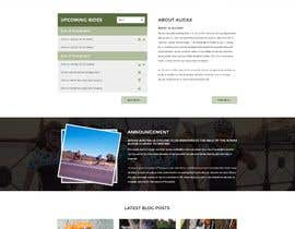 aryamaity tarafından Design a Cycling Club Website Mockup için no 6