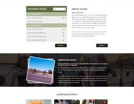 aryamaity tarafından Design a Cycling Club Website Mockup için no 7