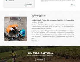 Isha3010 tarafından Design a Cycling Club Website Mockup için no 53