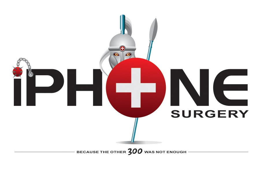 Contest Entry #302 for Logo Design for iphone-surgery.co.uk