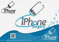 Graphic Design Конкурсная работа №248 для Logo Design for iphone-surgery.co.uk