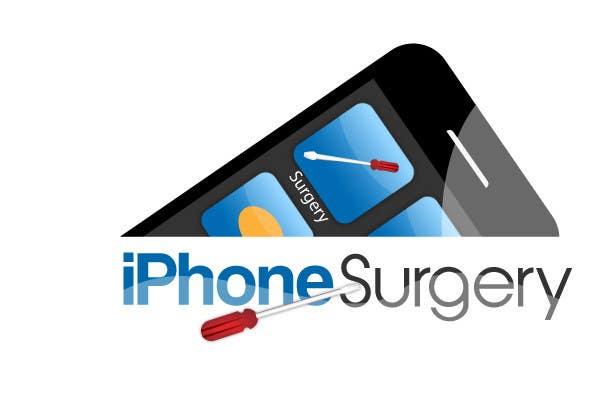 Bài tham dự cuộc thi #181 cho Logo Design for iphone-surgery.co.uk