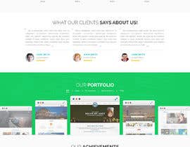 Nro 9 kilpailuun Design a Website Mockup for Web developer company käyttäjältä yasirmehmood490