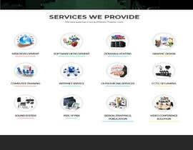 Nro 4 kilpailuun Design a Website Mockup for Web developer company käyttäjältä vikilara