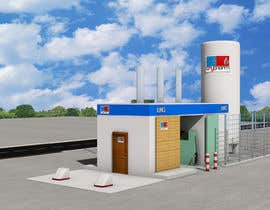 #18 , 3D design of a LCNG station for Energy Company 来自 karan23
